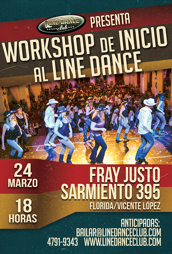 Workshop de Line Dance 2018