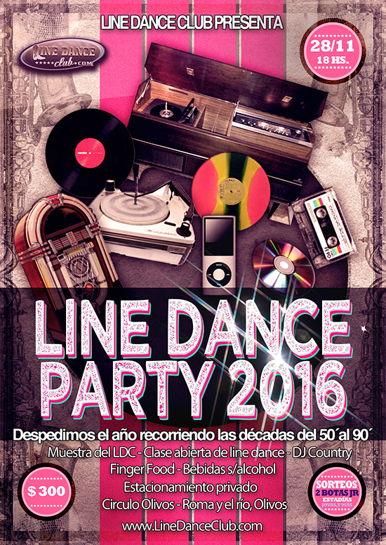 Line Dance Party Fin de Año 2016