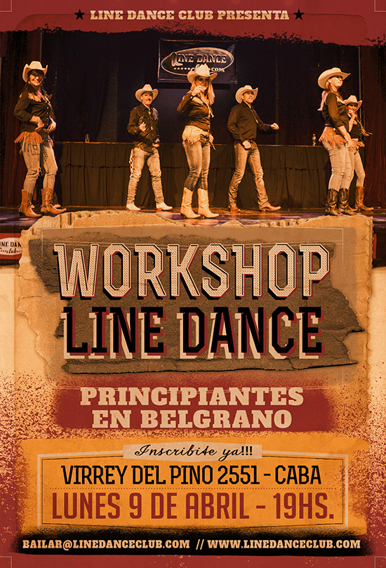 Workshop de Line Dance Belgrano 2018