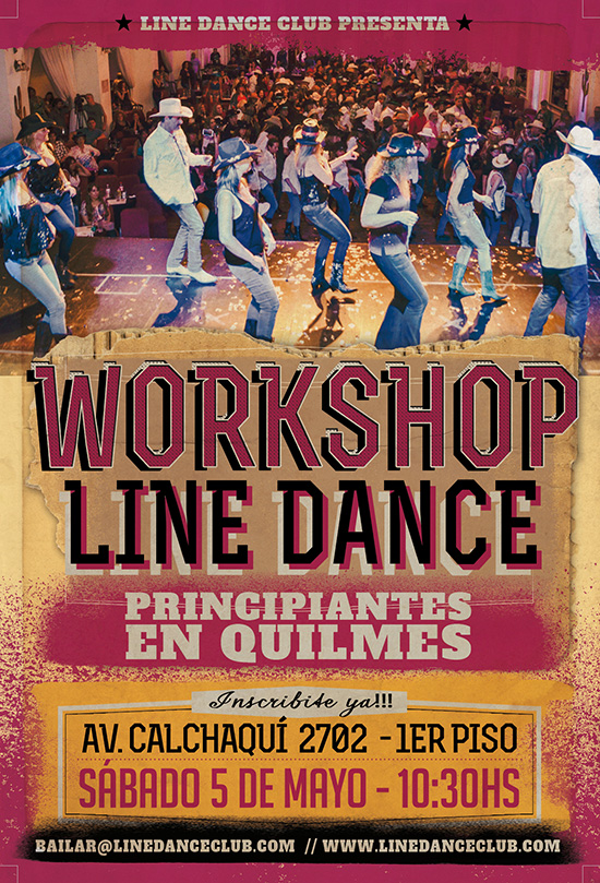 Workshop de Line Dance Quilmes 2018